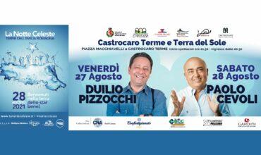 La notte celeste 2021 programma a Bagno di Romagna e Castrocaro Terme