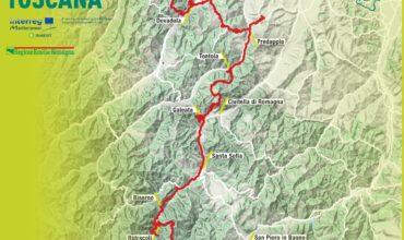 ciclovia delle terme: 126 km da castrocaro a bagno di romagna