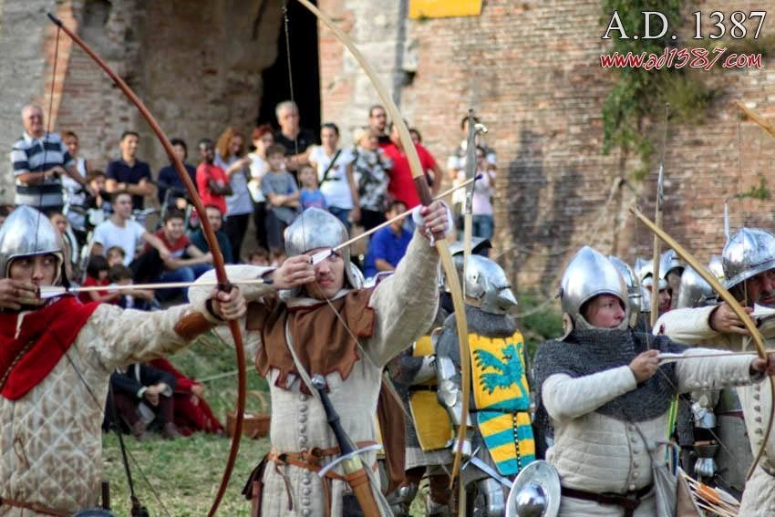 A. D. 1387 Battaglia a Terra del Sole