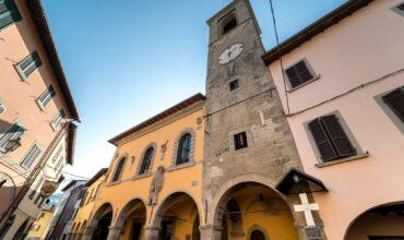 Palazzo del Podestà e centro storico