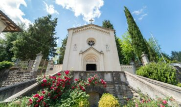 La chiesa/sacrario dedicata ai Caduti