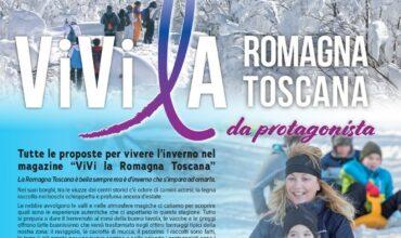 """E' uscito Il nuovo numero del magazine """"ViVila Romagna Toscana"""" da protagonista"""